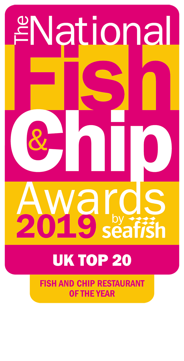 The National Fish and Chip Awards 2019 - UK Top 20 Fish and Chip Restaurant of the Year Award